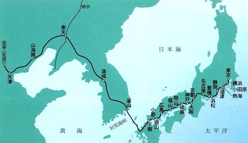 すべての講義 1 5000 地図 : 九州と朝鮮半島を連絡する、幻 ...